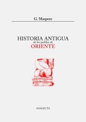 Portada: Maspero, Historia antigua de los pueblos de oriente